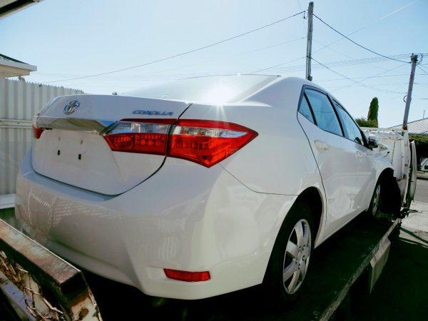 2016 ZRE172 Corolla Sedan